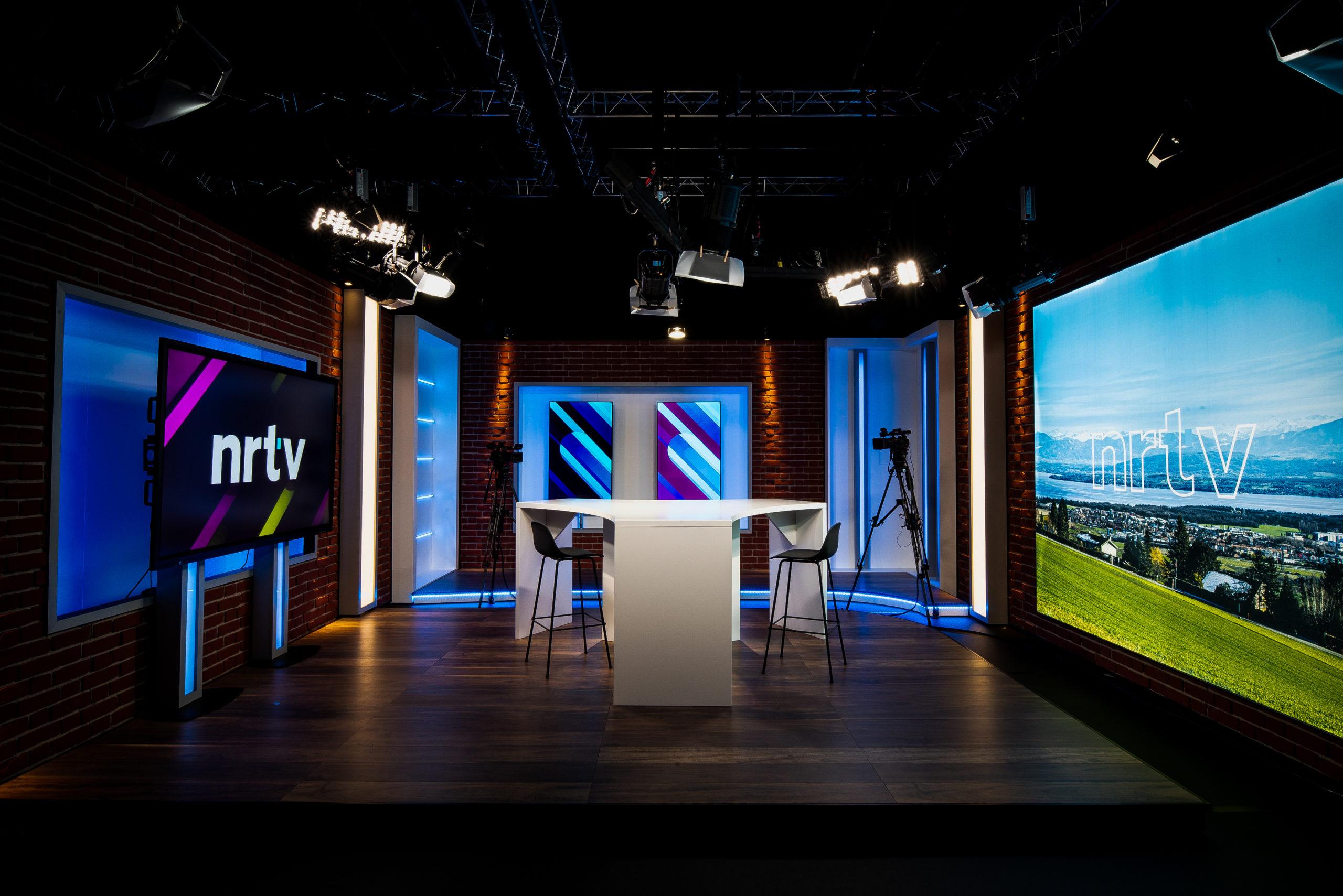Création de studio TV