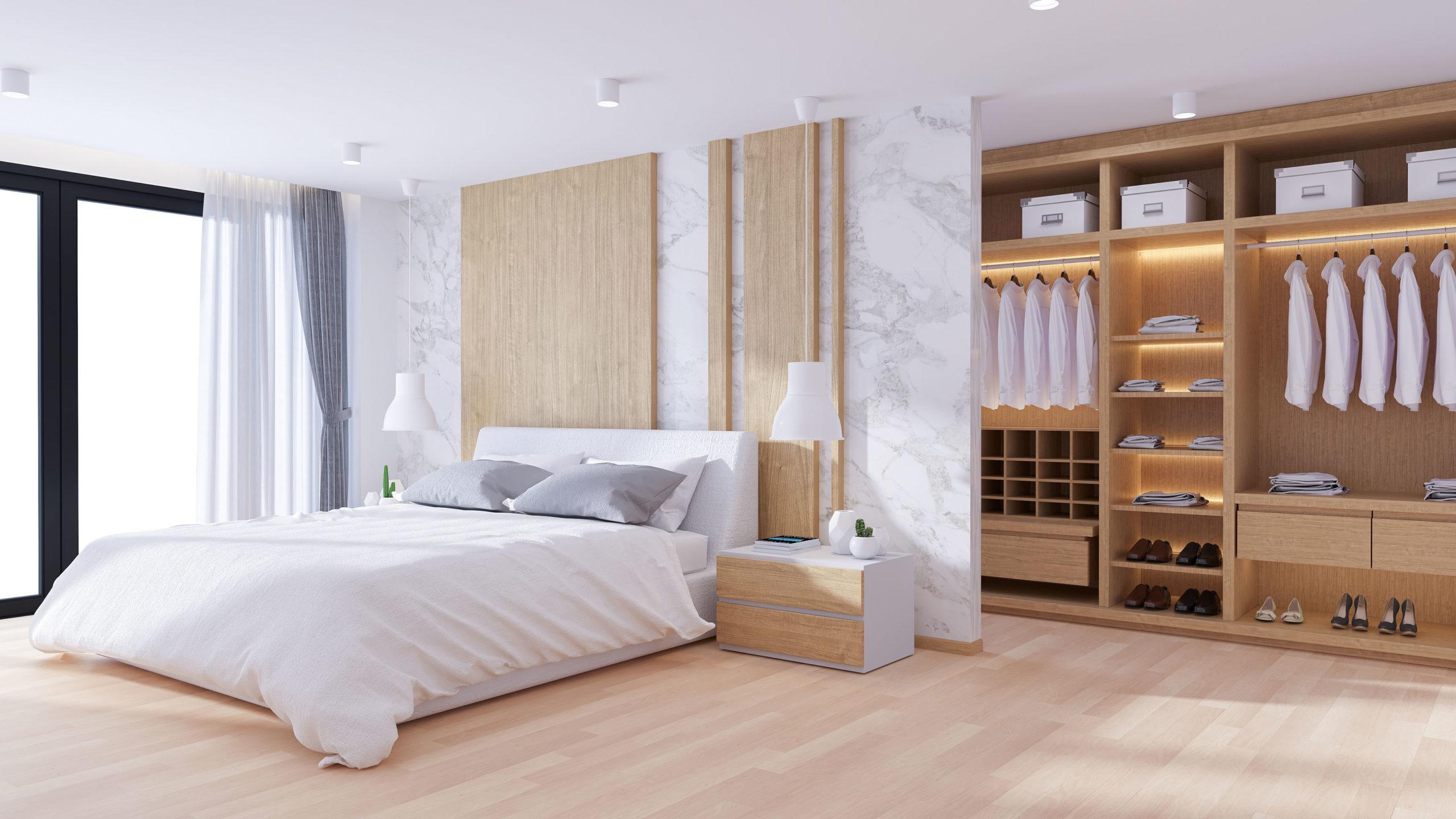 Création et conception de dressing, agencement intérieur, meuble sur-mesure