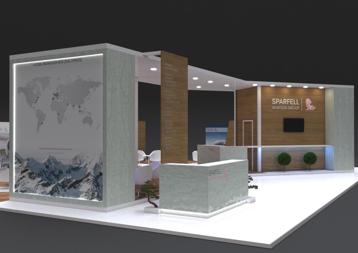 Conception d'un stand sur-mesure pour le salon Ebace Genève