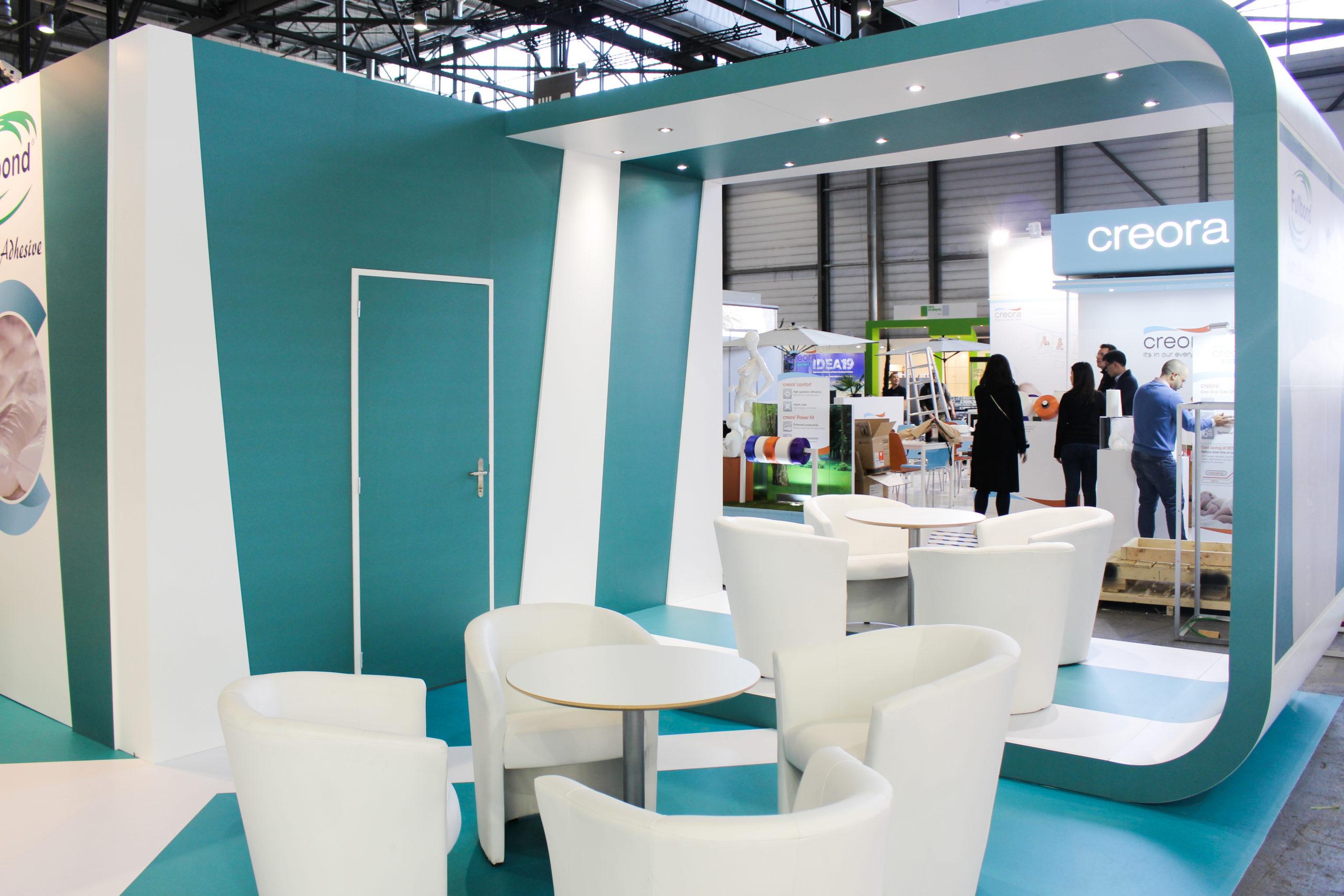 Fabrication stands d'exposition salon index Genève.