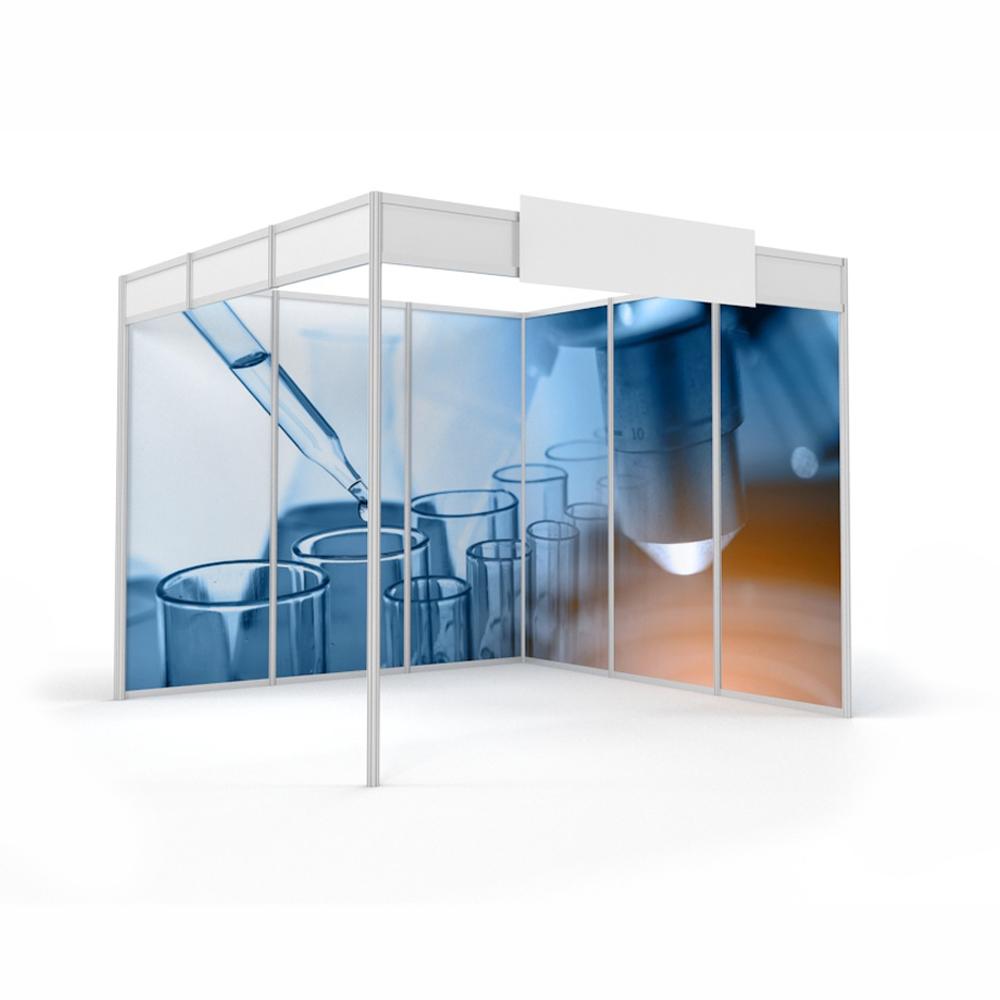 Personnalisation des stands d'exposition pour salons et événements