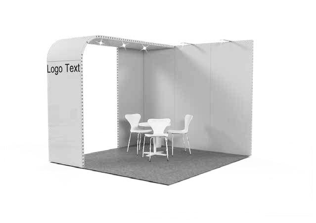 Stands d'exposition modulaire BRIDGE pour salons et événements